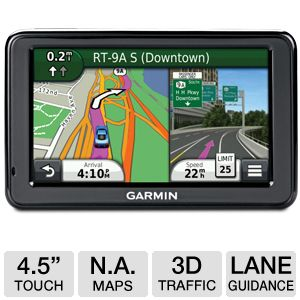 "Garmin n�vi 2495LMT 4.3""Widescreen Automotive GPS"