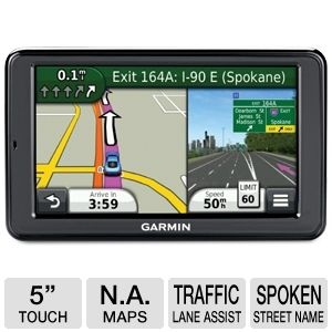 "Garmin nuvi 2555LMT 5"" Lifetime Maps/Traffic"