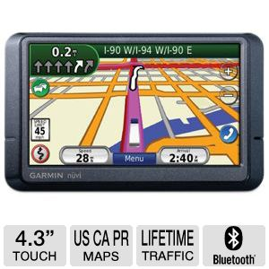 "Garmin N�vi� 465T 4.3"" Truck and Automotive GPS"