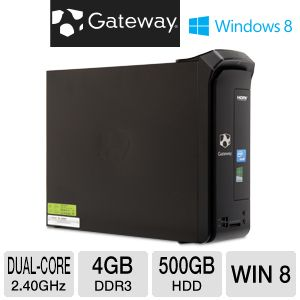 Gateway G530 500GB HDD 4GB DDR3 Desktop PC