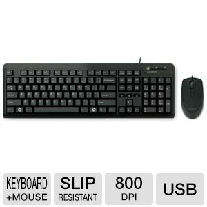 Gigabyte GK-KM5200 Wired Keyboard and Mouse Combo