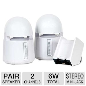 Grace Digital Mini-Bullets II Wireless Speakers