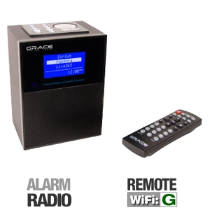 Grace Digital GDI-IRD4000 Allegro Wi-Fi Radio