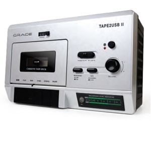 Grace Digital GDI-T2USB200 Cassette Player And Rec
