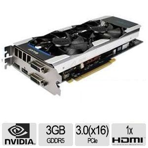 Galaxy GeForce GTX 660 Ti GC 3GB GDDR5 Video Card