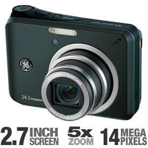 GE A1455 14MP Digital Camera