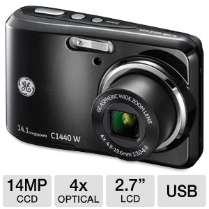 GE C1440W-BK Smart Series Digital Camera