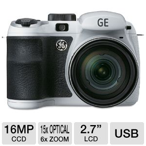 GE X550-WH Power PRO Series Digital Camera
