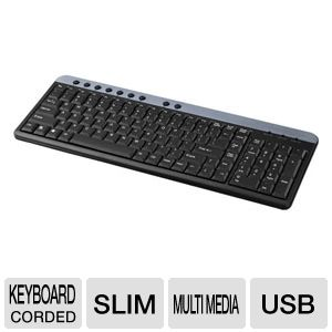 PowerUp! G54-40859 Multimedia Keyboard