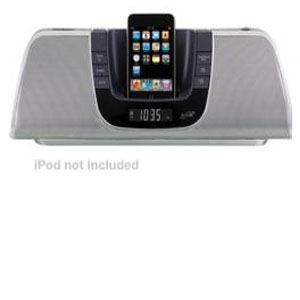 iLive IB209 Portable iPod Dock with Radio