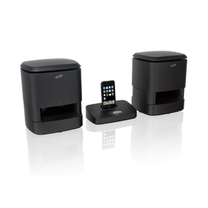 iLive IS809B Wireless Music System with iPod Dock