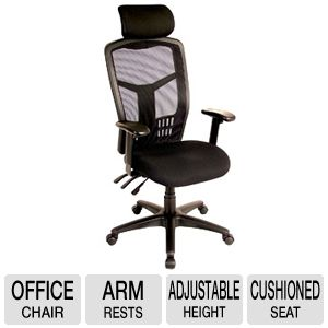 interion Office Chair with Headrest & Arm Rests