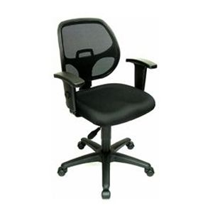 Interion Mesh Back Black Office Chair