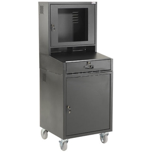 Global Industrial 239115BK Mobile Security Cabinet