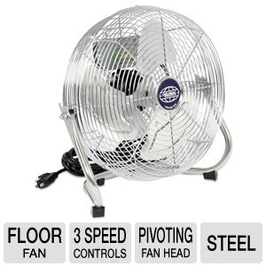 Famous Brand 12&quot; Steel Industrial Floor Fan