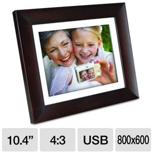 "Phillips SPF3410 10.4"" Digital Picture Frame"