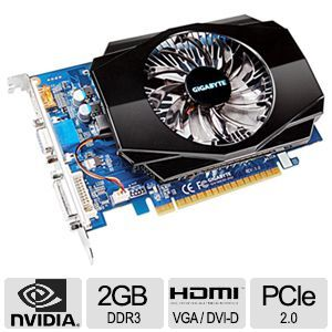 GIGABYTE GeForce GT 630 Video Card