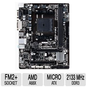 Gigabyte FM2+ Series Motherboard - GA-F2A88XM-DS2