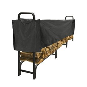 Pleasant Hearth LS938-144SC Outdoor Steel Log Rack