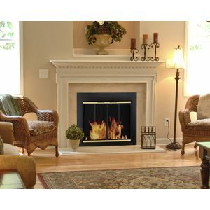 Pleasant Hearth AR-1020 Fireplace Screen and Glass