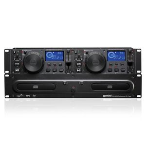 2U DUAL RACKMOUNT NIGHTCLUB CD/MP3 PLAYE