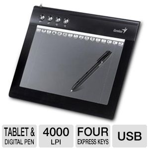 Genius EasyPen M610XA Graphic Tablet