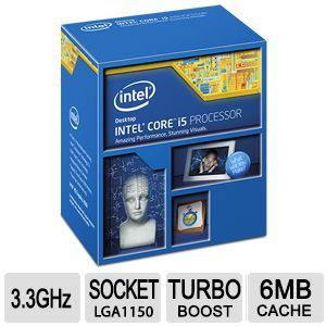 Intel Core i5-4590 3.3GHz Quad-Core CPU