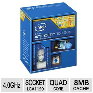 Intel� Core� i7-4790K Quad Core Processor