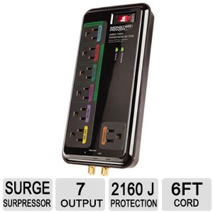 Monster Audio/Video 7-Outlet Surge Protector