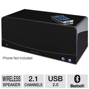 Hip Street High Fidelity 2.1 Bluetooth Speaker