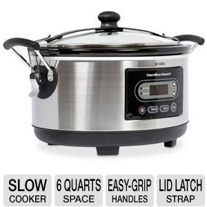 Hamilton Beach 33965 6-Quart Slow Cooker