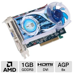 HIS Radeon HD 4670 IceQ 1GB DDR3 AGP