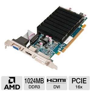 HIS Radeon HD 6570 1GB DDR3 PCIe Video Card