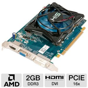 HIS Radeon HD 6570 2GB DDR3 Video Card