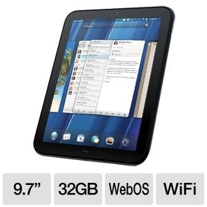 HP TouchPad FB356UT WebOS Tablet