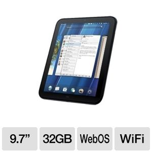 HP TouchPad 32GB WebOS Tablet