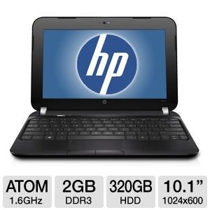"Hp Mini 10.1"" Atom 320GB HDD Netbook"