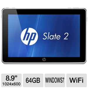 "HP Slate 2 8.9"" 64GB SSD Tablet PC"