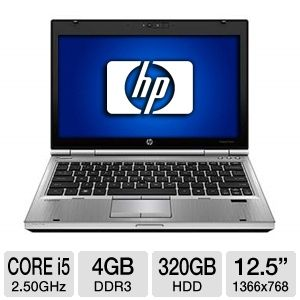 "HP EliteBook 2560p 12.5"" Notebook PC"