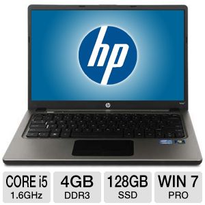 HP Folio 13.3 Core i5 processor Win7 Pro Ultrabook