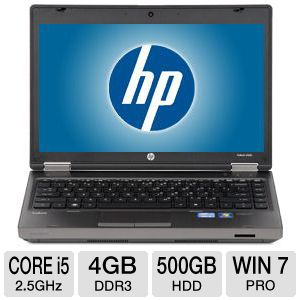 "HP 13.3"" Core i5 500GB HDD Notebook"