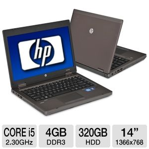 "HP ProBook 6460b 14"" Notebook PC REFURB"