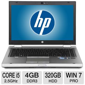 "HP EliteBook 8460p 14"" Core i5 320GB Notebook"