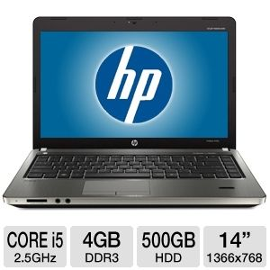 "HP ProBook 14"" Core i5 500GB HDD Notebook"