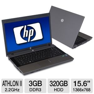 "HP 625 XT960UT 15.6"" Gray Notebook REFURB"