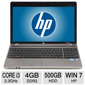 "HP ProBook 15.6"" Core i3 4GB 500GB Laptop"