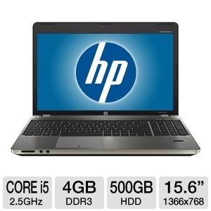 "HP ProBook 15.6"" 500GB HDD Notebook"