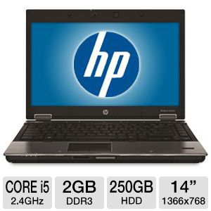 HP EliteBook 8440w Core i5 250GB HDD Notebook
