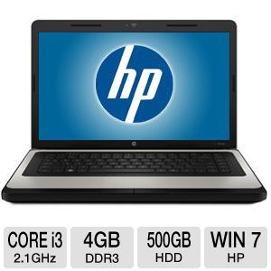 HP 630 15.6&quot; Core i3 500GB Notebook PC REFURB