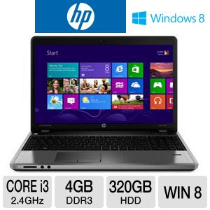 "HP ProBook 4540s 15.6"" Core i3 320GB HDD Notebook"